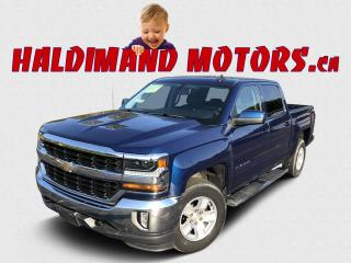 Used 2017 Chevrolet Silverado 1500 LT CREW CAB 4X4 for sale in Cayuga, ON