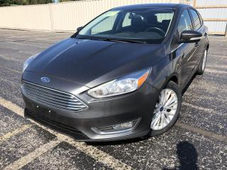 Used 2018 Ford Focus Titanium HATCH 2WD for sale in Cayuga, ON