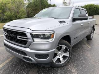 Used 2019 RAM 1500 SPORT CREW CAB 4X4 for sale in Cayuga, ON