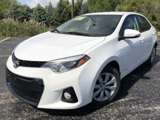Used 2015 Toyota Corolla S 2WD for sale in Cayuga, ON