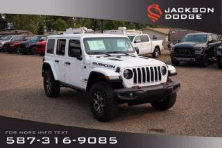 New 2020 Jeep Wrangler Unlimited Rubicon | Navigation | Remote Start | Heated Seats & Steering Wheel for sale in Medicine Hat, AB