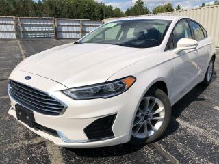 Used 2020 Ford Fusion Hybrid SEL 2WD for sale in Cayuga, ON