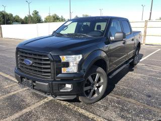 Used 2016 Ford F-150 XLT Sport Crew 4X4 for sale in Cayuga, ON