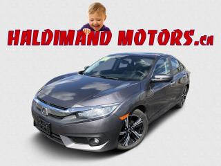 Used 2018 Honda Civic Touring 2WD for sale in Cayuga, ON