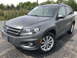 Used 2014 Volkswagen Tiguan Highline AWD for sale in Cayuga, ON
