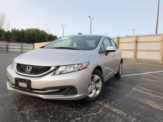 Used 2015 Honda Civic LX 2WD for sale in Cayuga, ON