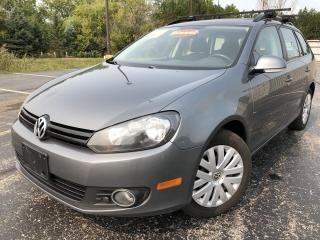 Used 2014 Volkswagen Golf SPORTWAGEN TDI 2WD for sale in Cayuga, ON