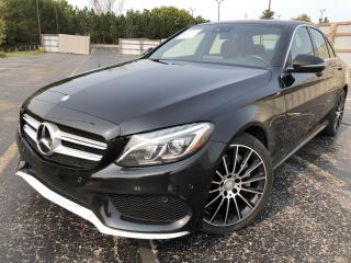Used 2016 Mercedes-Benz C-Class C300 4MATIC AWD for sale in Cayuga, ON