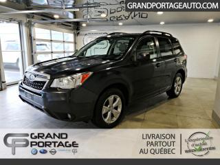 Used 2014 Subaru Forester Familiale 5 portes 2.5i Groupe Tourisme for sale in Rivière-Du-Loup, QC