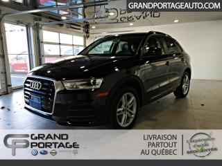 Used 2016 Audi Q3 2.0T Komfort quattro 4 portes for sale in Rivière-Du-Loup, QC