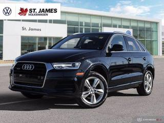 Used 2016 Audi Q3 Progressiv, One Owner, Push to Start,  Heated Seats for sale in Winnipeg, MB