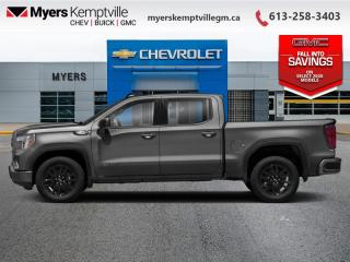 New 2020 GMC Sierra 1500 Elevation  - SiriusXM for sale in Kemptville, ON