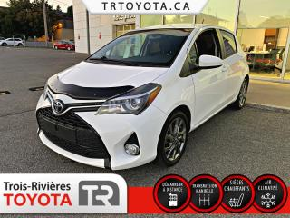 Used 2015 Toyota Yaris SE 5 portes à hayon à transmission manue for sale in Trois-Rivières, QC