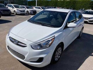 Used 2016 Hyundai Accent Voiture à hayon, 5 portes, boîte manuell for sale in Joliette, QC