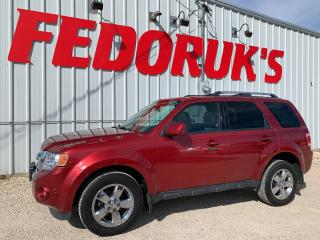 Used 2012 Ford Escape Limited for sale in Headingley, MB