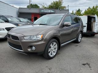 Used 2012 Mitsubishi Outlander 2012 MITSUBISHI OUTLANDER XLS**67.00$/SE for sale in Lemoyne, QC