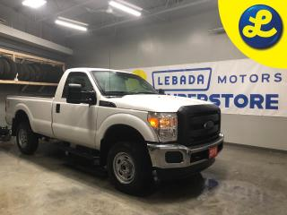 Used 2016 Ford F-250 Super Duty 4WD Reg Cab * 3 Passenger * Vinyl floor * 8 Foot Long Box * Side steps * Sprayed bed liner * Phone connect *  Tow mode with trailer brake a for sale in Cambridge, ON