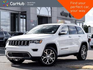 Used 2019 Jeep Grand Cherokee Limited 4x4 Heated Seats & Wheel Sunroof for sale in Thornhill, ON