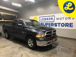 Used 2017 RAM 1500 SXT QUAD CAB 4X4  Hemi * Pendaliner box insert * Phone Connect * 5.7L HEMI VVT V8 engine with FuelSaver MDS * Hands free steering wheel controls * Voi for sale in Cambridge, ON