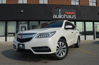 Used 2016 Acura MDX NAVI/LEATHER/SUNROOF/BLIND SPOTS for sale in Concord, ON