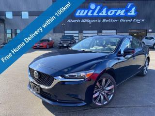 Used 2020 Mazda MAZDA6 GS-L, Leather, Sunroof, Radar Cruise, Lane Departure Warning, Pedestrian Detection, Rear Camera for sale in Guelph, ON