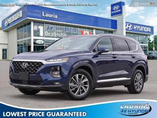 New 2020 Hyundai Santa Fe 2.0T AWD Luxury for sale in Port Hope, ON