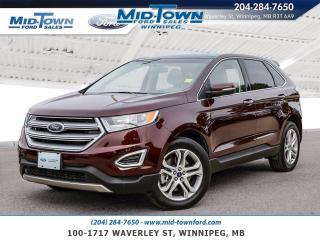 Used 2017 Ford Edge AWD for sale in Winnipeg, MB
