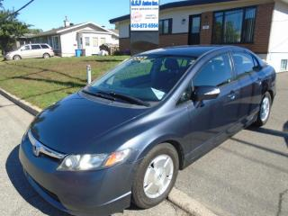 Used 2006 Honda Civic Hybride for sale in Ancienne Lorette, QC