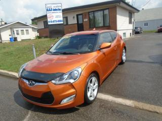 Used 2013 Hyundai Veloster for sale in Ancienne Lorette, QC