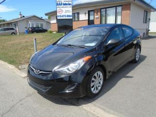 Used 2013 Hyundai Elantra GL for sale in Ancienne Lorette, QC