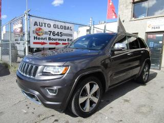Used 2015 Jeep Grand Cherokee 4 RM 4 portes Overland for sale in Montréal, QC