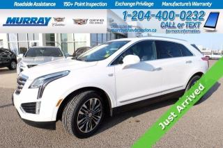 Used 2017 Cadillac XT5 *New Tires* Heated/Cooled Leather Seats* Remote St for sale in Brandon, MB