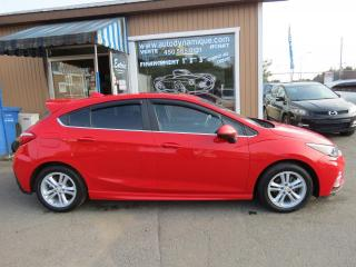 Used 2017 Chevrolet Cruze LT 1.4L à hayon 4 portes avec 1SC for sale in Prevost, QC
