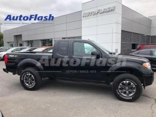 Used 2017 Nissan Frontier PRO-4X *LIFT-KIT! *M6 *4X4 *EXTENDED-CAB *CAMERA for sale in St-Hubert, QC