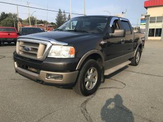 Used 2005 Ford F-150 Supercrew 4x4 KING RANCH for sale in Sherbrooke, QC
