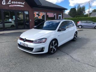 Used 2015 Volkswagen Golf GTI Autobahn for sale in St-Prosper, QC