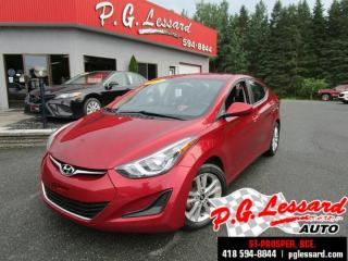 Used 2016 Hyundai Elantra Gl siege chauffant bluetooth automatique for sale in St-Prosper, QC