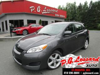 Used 2009 Toyota Matrix Xr traction intégrale for sale in St-Prosper, QC
