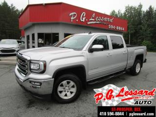 Used 2018 GMC Sierra 1500 Sle crew cab 4x4 camera siege chauffant bluetooth for sale in St-Prosper, QC