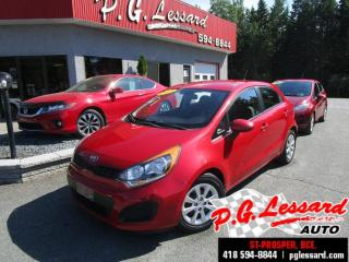 Used 2015 Kia Rio Lx+ a/c siege chauffant bluetooth for sale in St-Prosper, QC