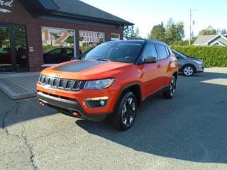 Used 2018 Jeep Compass Trailhawk for sale in St-Prosper, QC