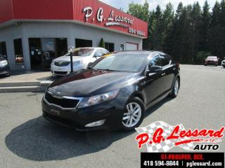 Used 2013 Kia Optima Lx+ toit panoramique siege chauffant bluetooth for sale in St-Prosper, QC