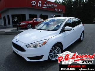 Used 2016 Ford Focus Se camera de recul bluetooth siege electrique for sale in St-Prosper, QC