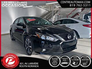 Used 2016 Nissan Altima SR ( frais vip 395$ non inclus) for sale in Rouyn-Noranda, QC