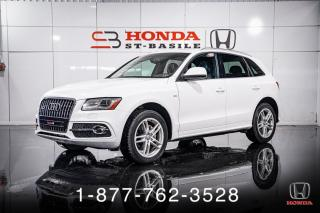 Used 2014 Audi Q5 2.0T + S-LINE + PROG + NAVI + WOW! for sale in St-Basile-le-Grand, QC