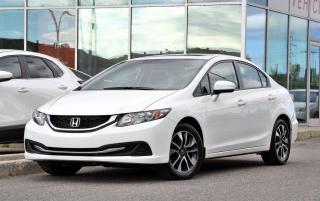 Used 2015 Honda Civic EX AUTO TOIT BLUETOOTH AUTO TOIT MAGS CRUISE BLUETOOTH for sale in Lachine, QC