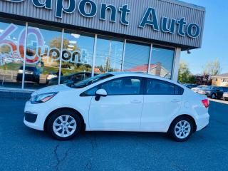 Used 2016 Kia Rio Berline 4 portes, boîte AUTOMATIQUE, LX for sale in Alma, QC