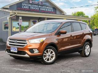 Used 2017 Ford Escape SE,AWD,R/V CAM,B.TOOTH,HEATED SEATS for sale in Orillia, ON