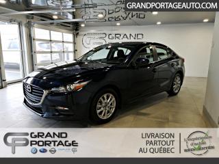 Used 2018 Mazda MAZDA3 GS BM **Bas kilométrage** for sale in Rivière-Du-Loup, QC