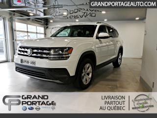 Used 2018 Volkswagen Atlas Trendline 3.6 FSI 4MOTION for sale in Rivière-Du-Loup, QC